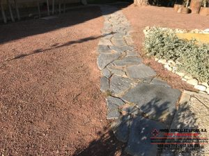 Piedra Cuarcita Gris Jardineria
